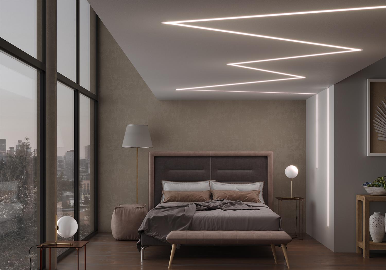 Production of LED profile