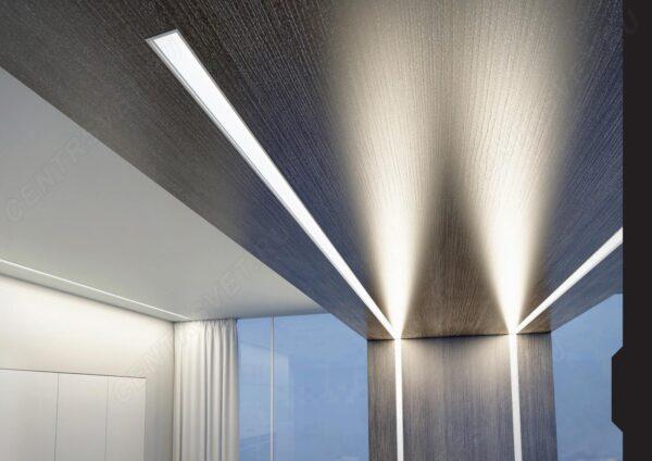 Как крепить алюминиевый профиль для светодиодной ленты