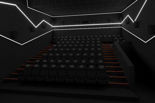 Світлодіодне освітлення в кінотеатрах