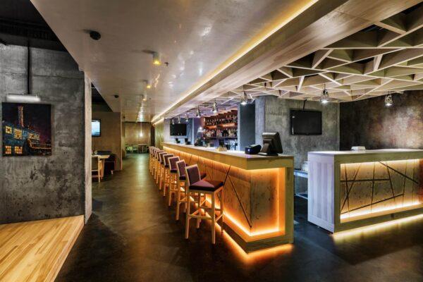 Як організувати освітлення бару та ресторану