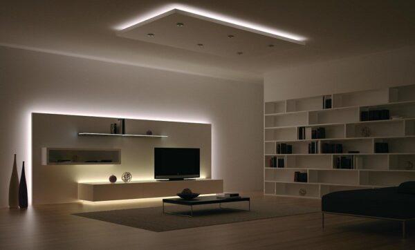 Застосування LED стрічок для підсвічування меблів