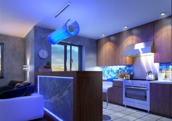 LED освітлення маленьких квартир: як розширити простір