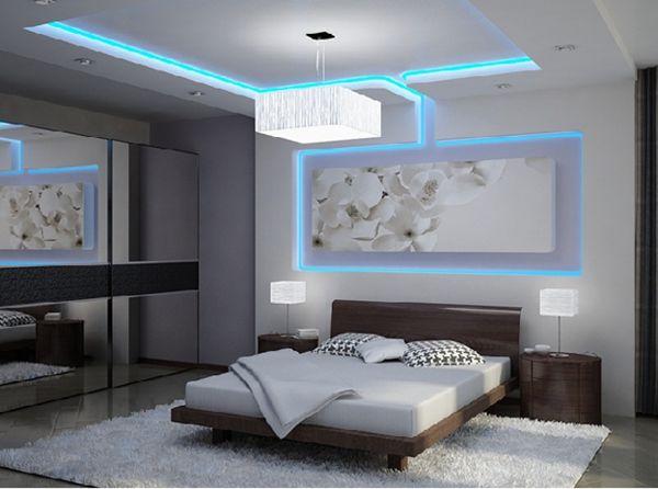 Декоративне світлодіодне підсвічування в інтер'єрі